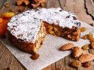 Панфорте - италиански коледен сладкиш от сиена с ядки и захаросани плодове